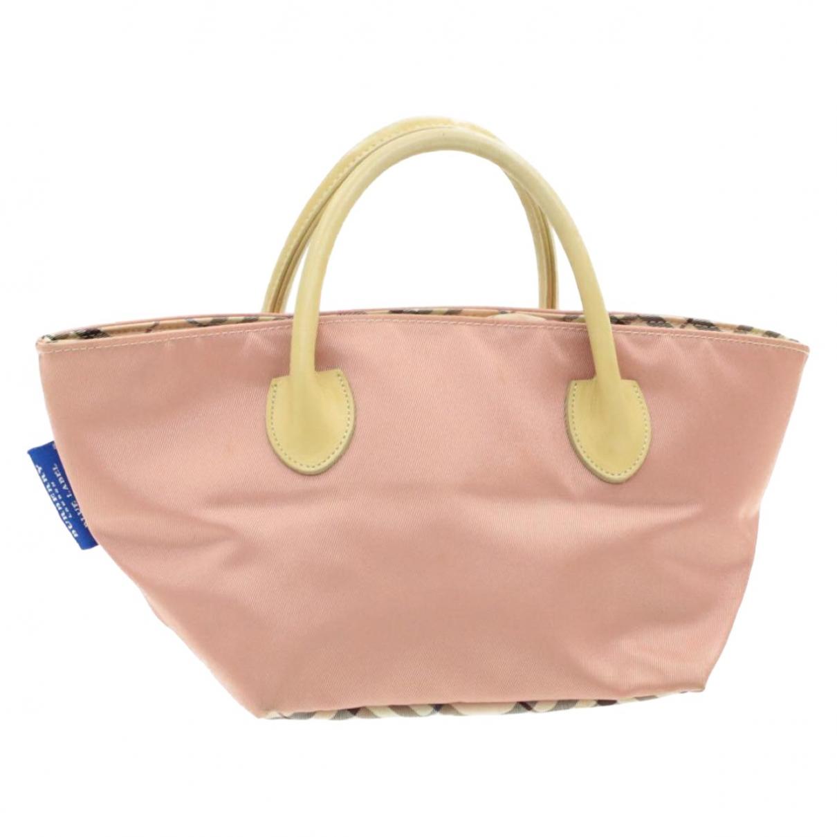 Burberry \N Pink Cloth handbag for Women \N