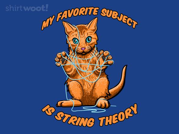 My Favorite Subject T Shirt