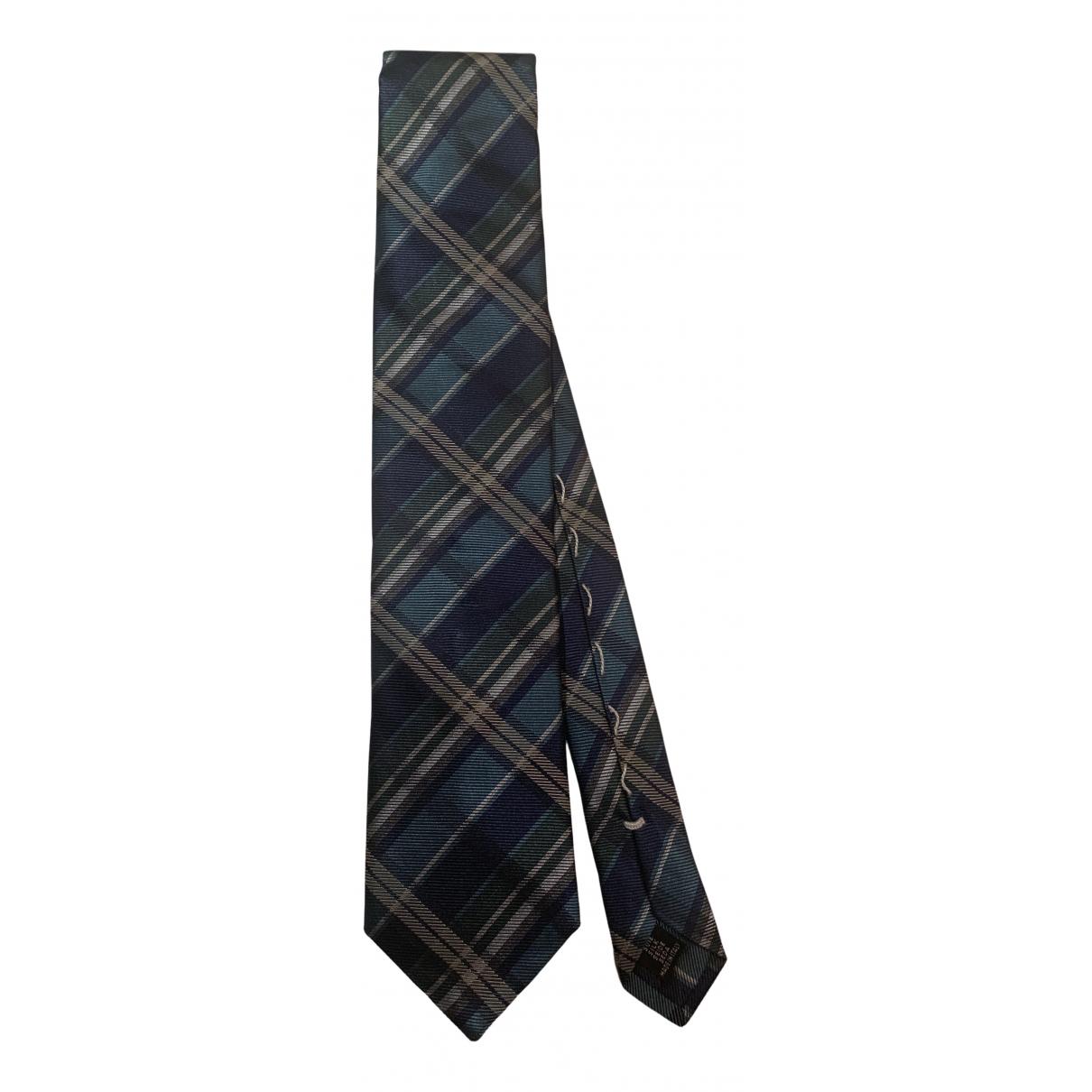 Pal Zileri \N Krawatten in  Blau Seide