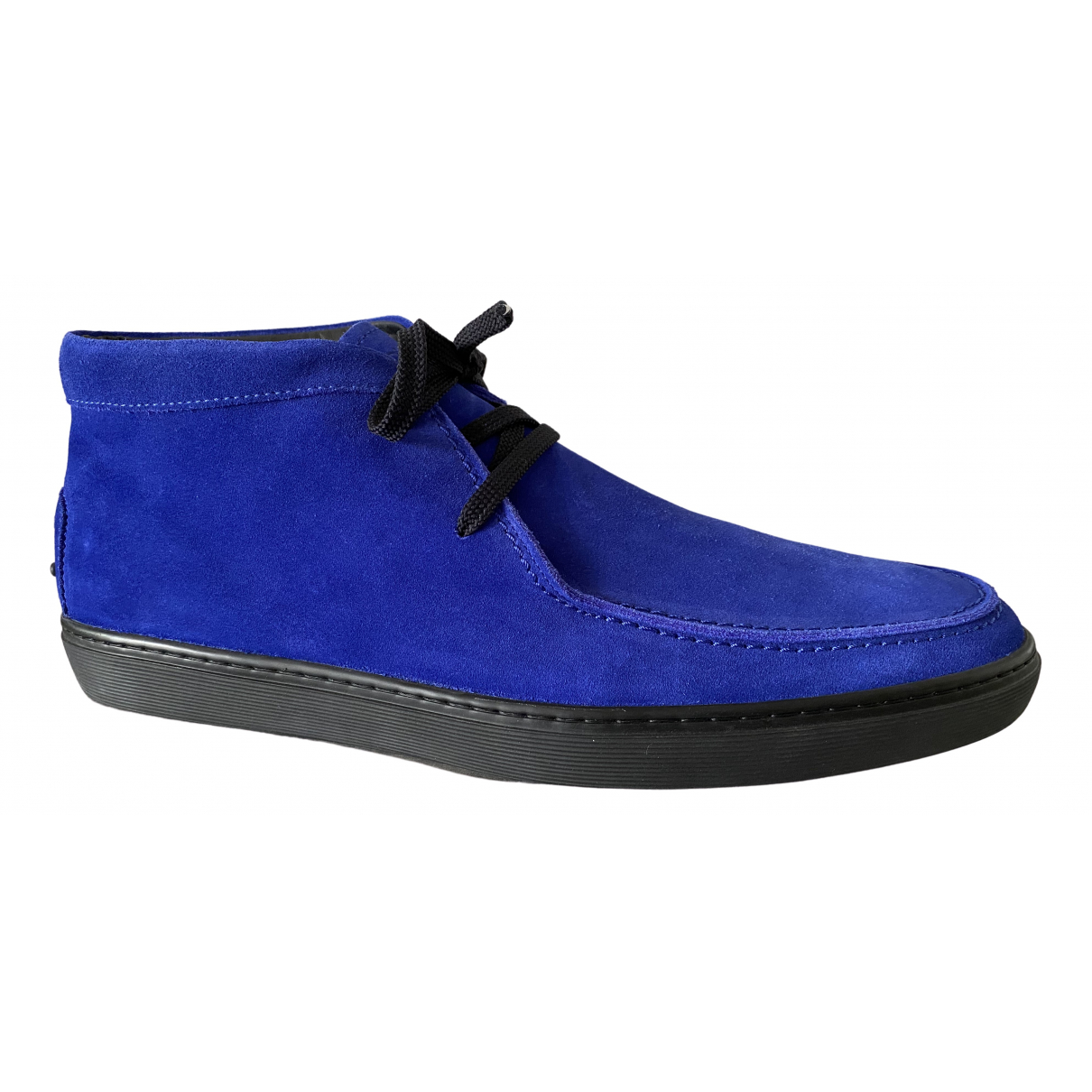 Tod's \N Blue Suede Boots for Men 10.5 UK