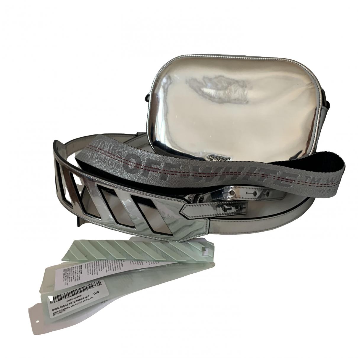 Off-white \N Silver handbag for Women \N