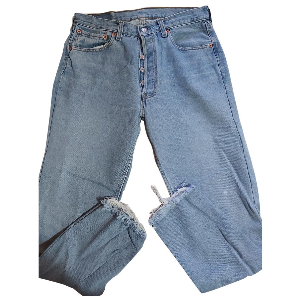 Levi's - Pantalon   pour femme en denim - bleu