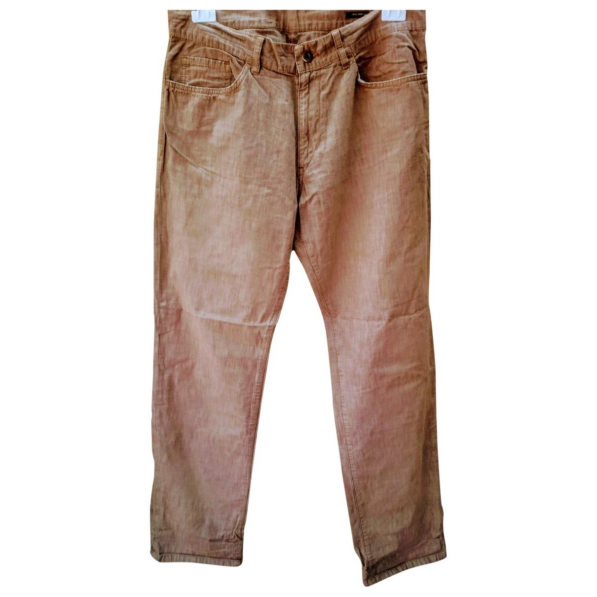 Miu Miu \N Cotton Trousers for Men 34 UK - US
