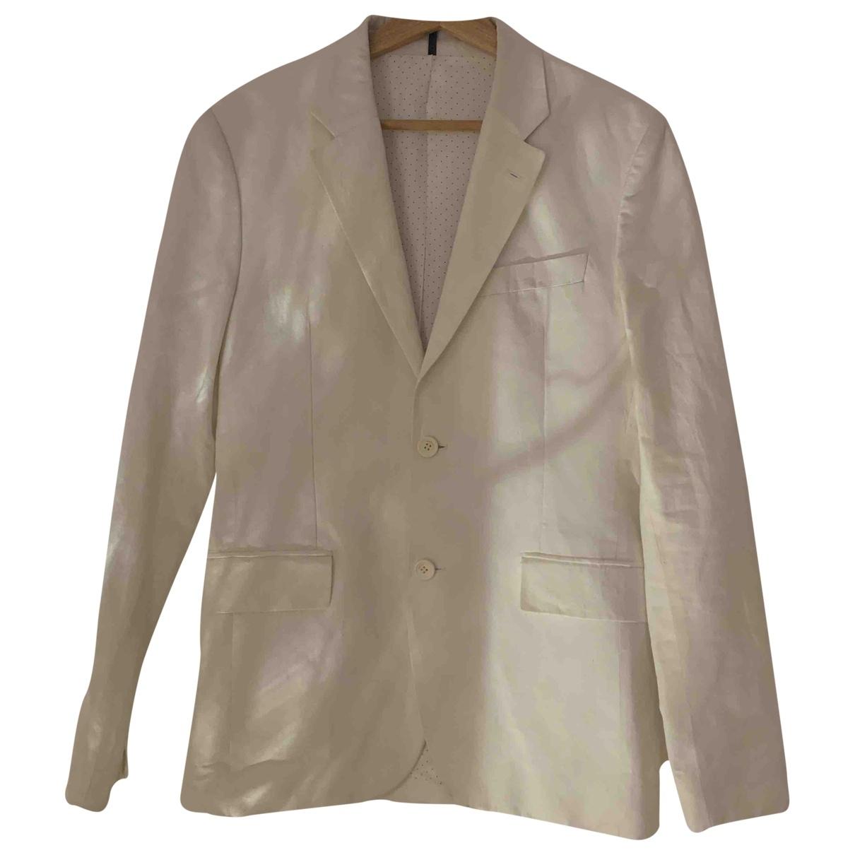 Givenchy - Costumes   pour homme en lin - ecru