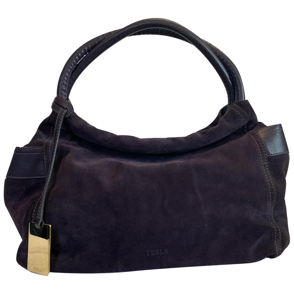 Furla \N Purple Suede handbag for Women \N