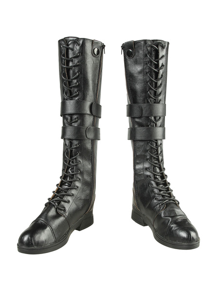 Milanoo Devil May Cry 5 Lady Halloween Cosplay Shoes