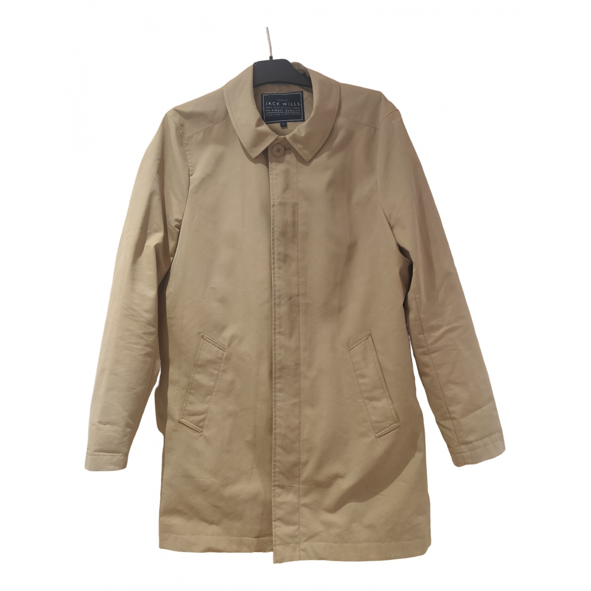 Jack Wills - Manteau   pour homme en coton - camel