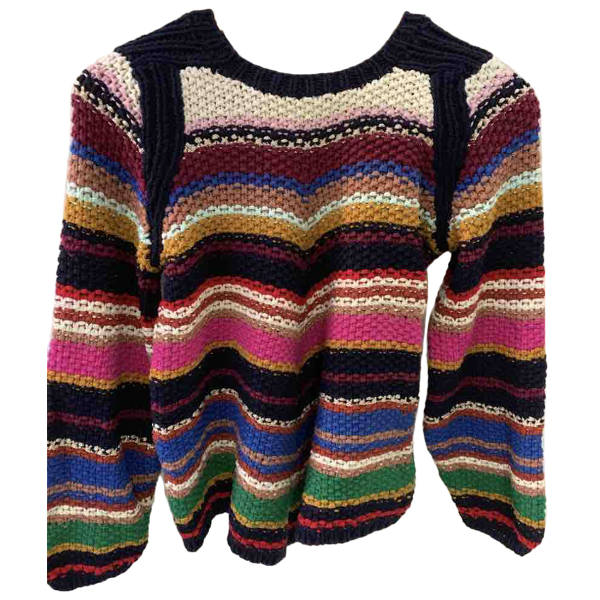 Ba&sh - Pull   pour femme en coton - multicolore