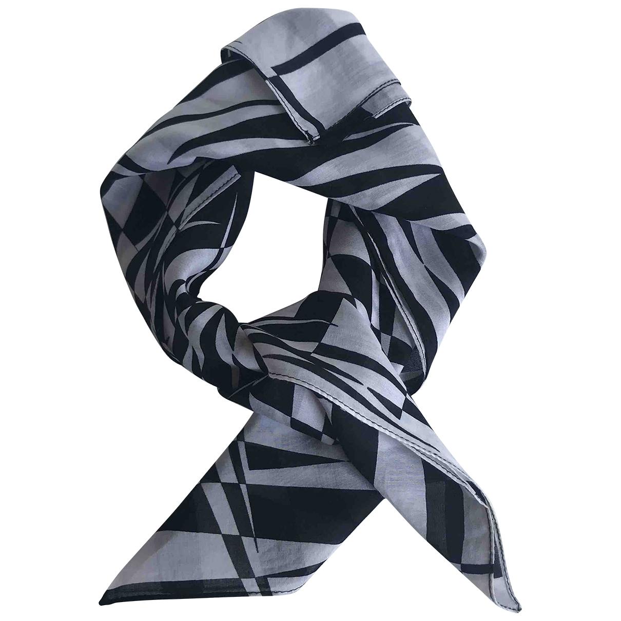 Versace X H&m \N Schal in  Schwarz Baumwolle