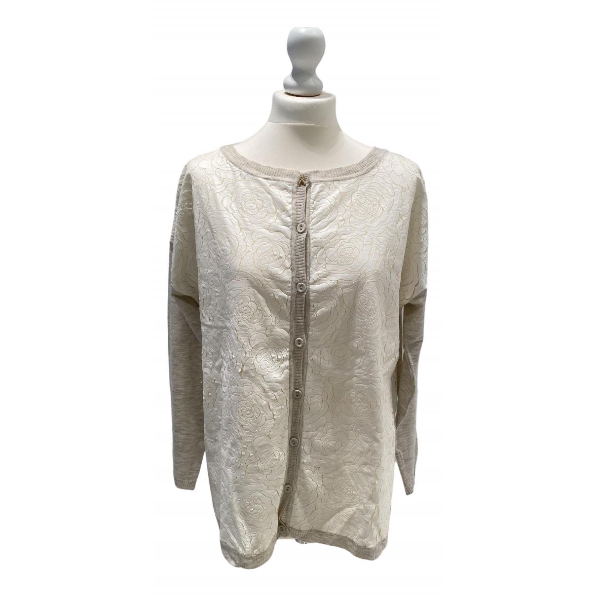 Patrizia Pepe - Pull   pour femme en laine - beige