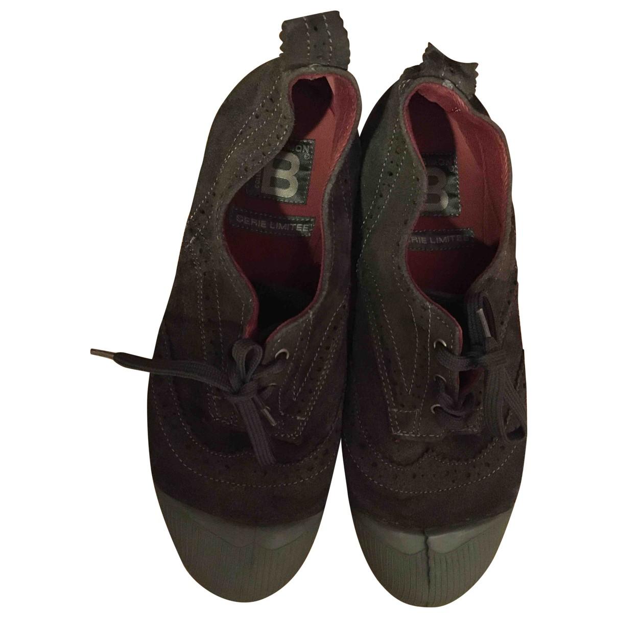 Bensimon \N Sneakers in  Braun Veloursleder