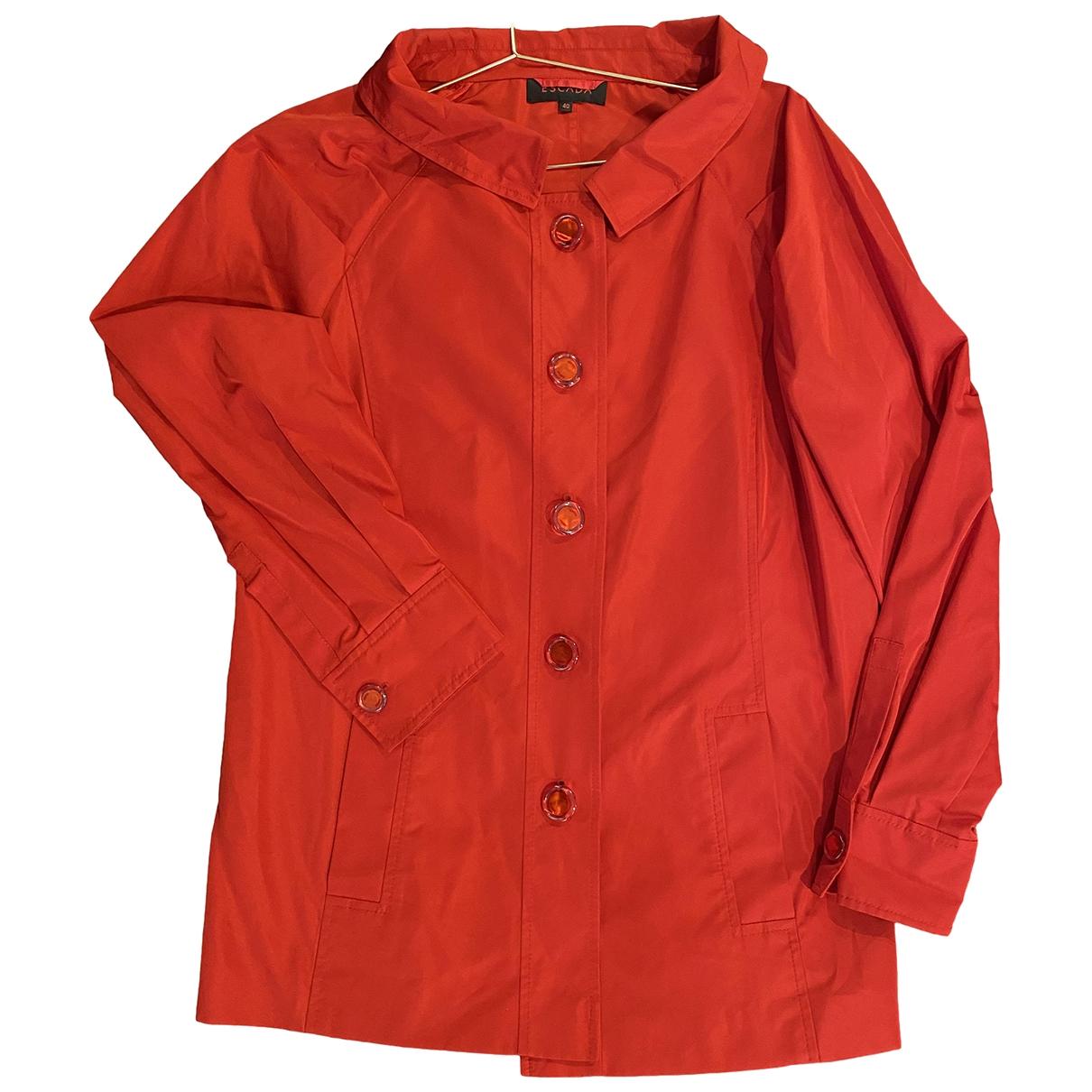 Escada \N Red coat for Women 40 IT