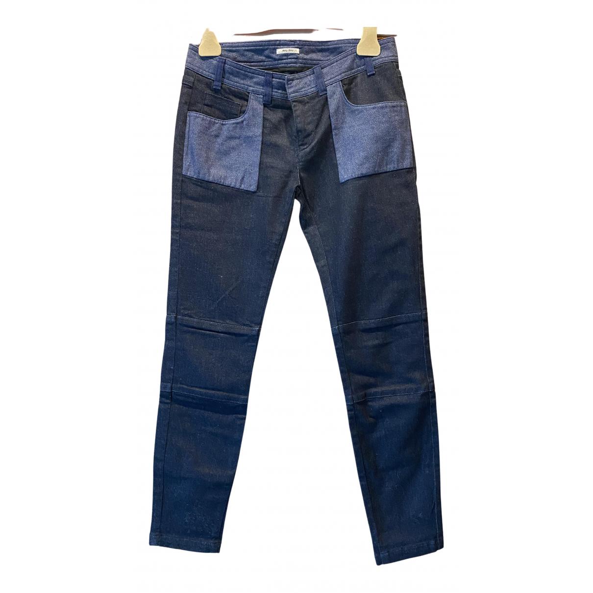 Miu Miu N Multicolour Denim - Jeans Jeans for Women 25 US