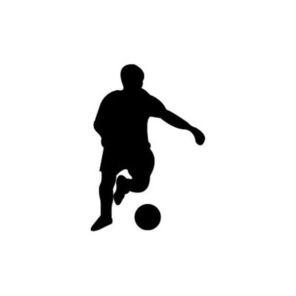 Woodworking Project Paper Plan to Build Soccer Player No.2 Shadow