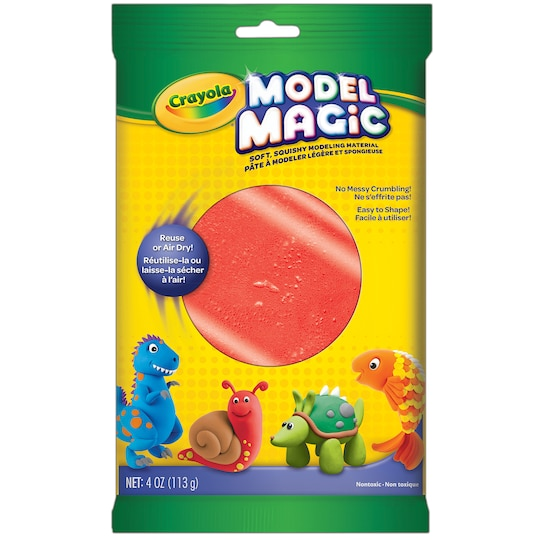 12 Pack: Crayola® Model Magic® 4 oz By Crayola Model Magic in Red   Michaels®
