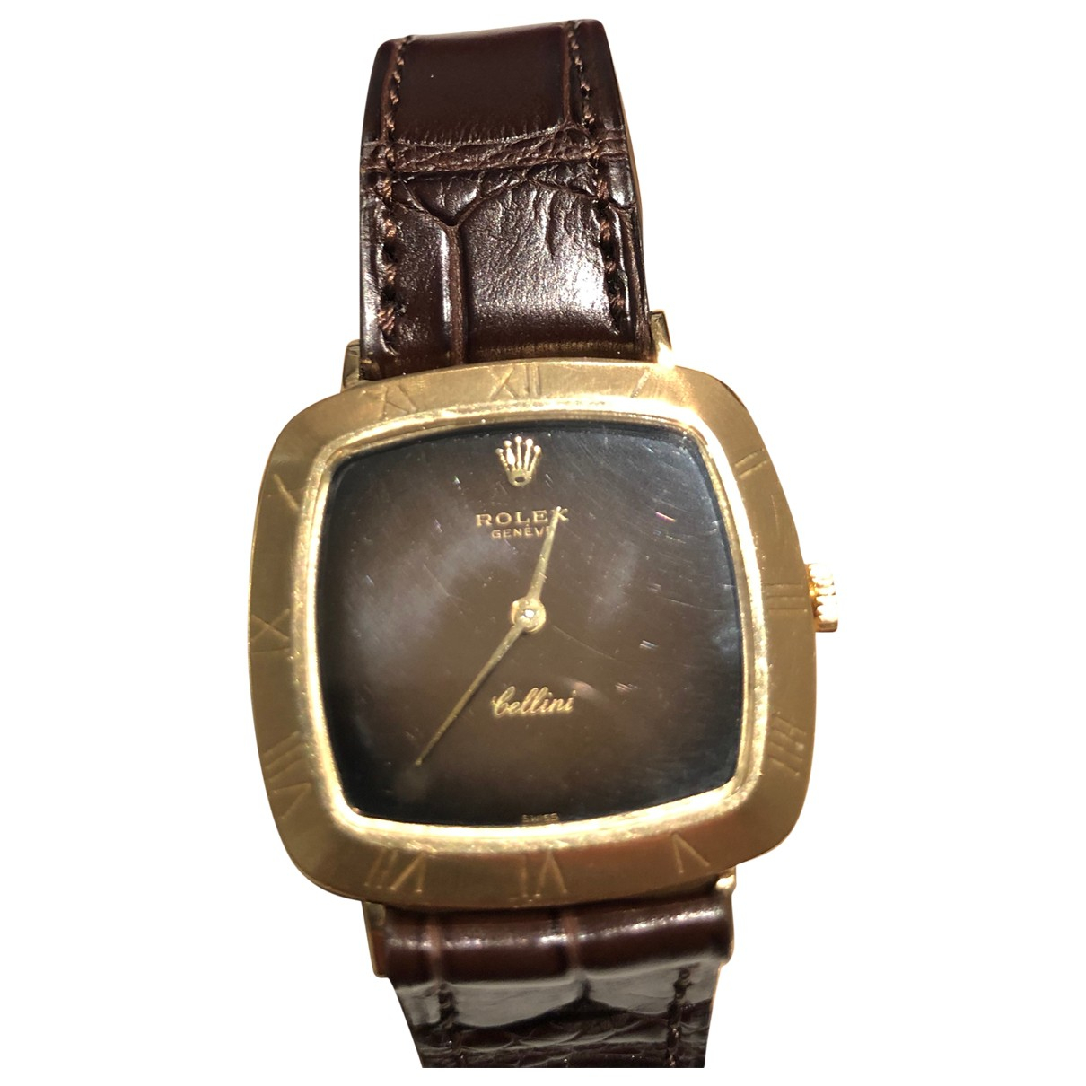 Rolex Cellini Gold Yellow gold watch for Women \N