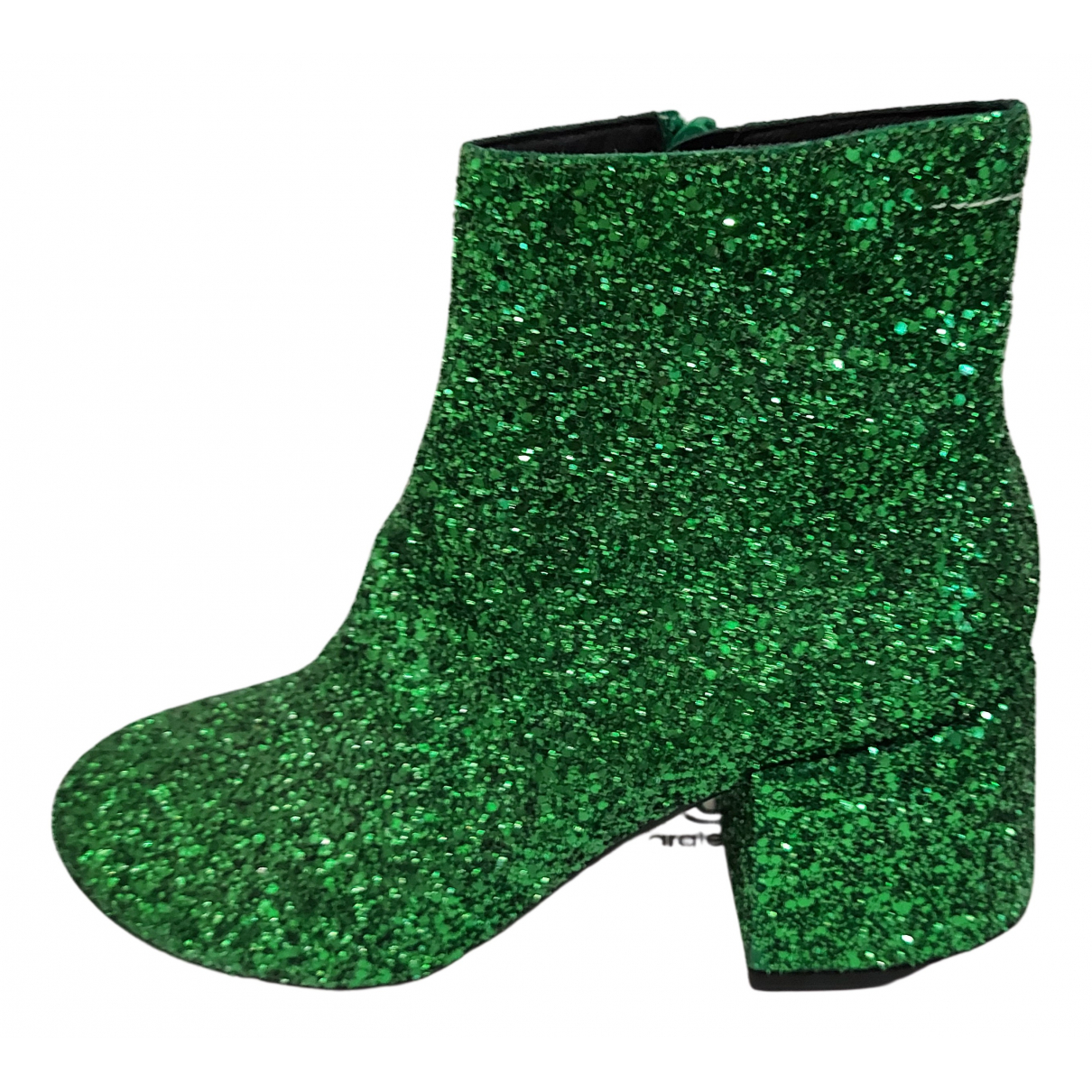 Mm6 N Green Ankle boots for Women 37 EU