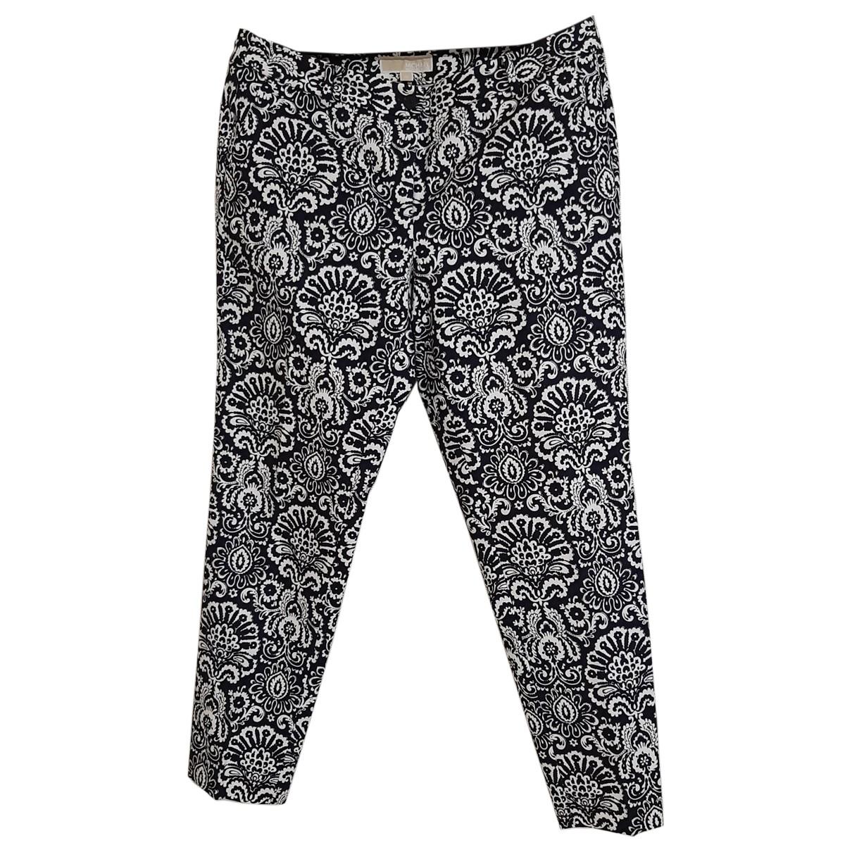 Michael Kors \N Multicolour Cotton Trousers for Women 10 US