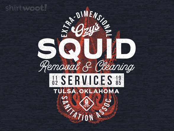 Ozy's Squid Cleaning T Shirt