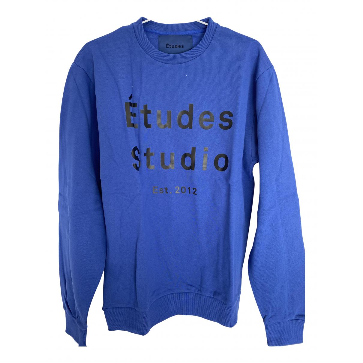 Études Studio N Blue Cotton Knitwear & Sweatshirts for Men XL International