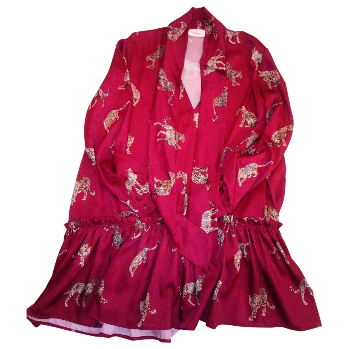 Vicolo - Robe   pour femme - bordeaux