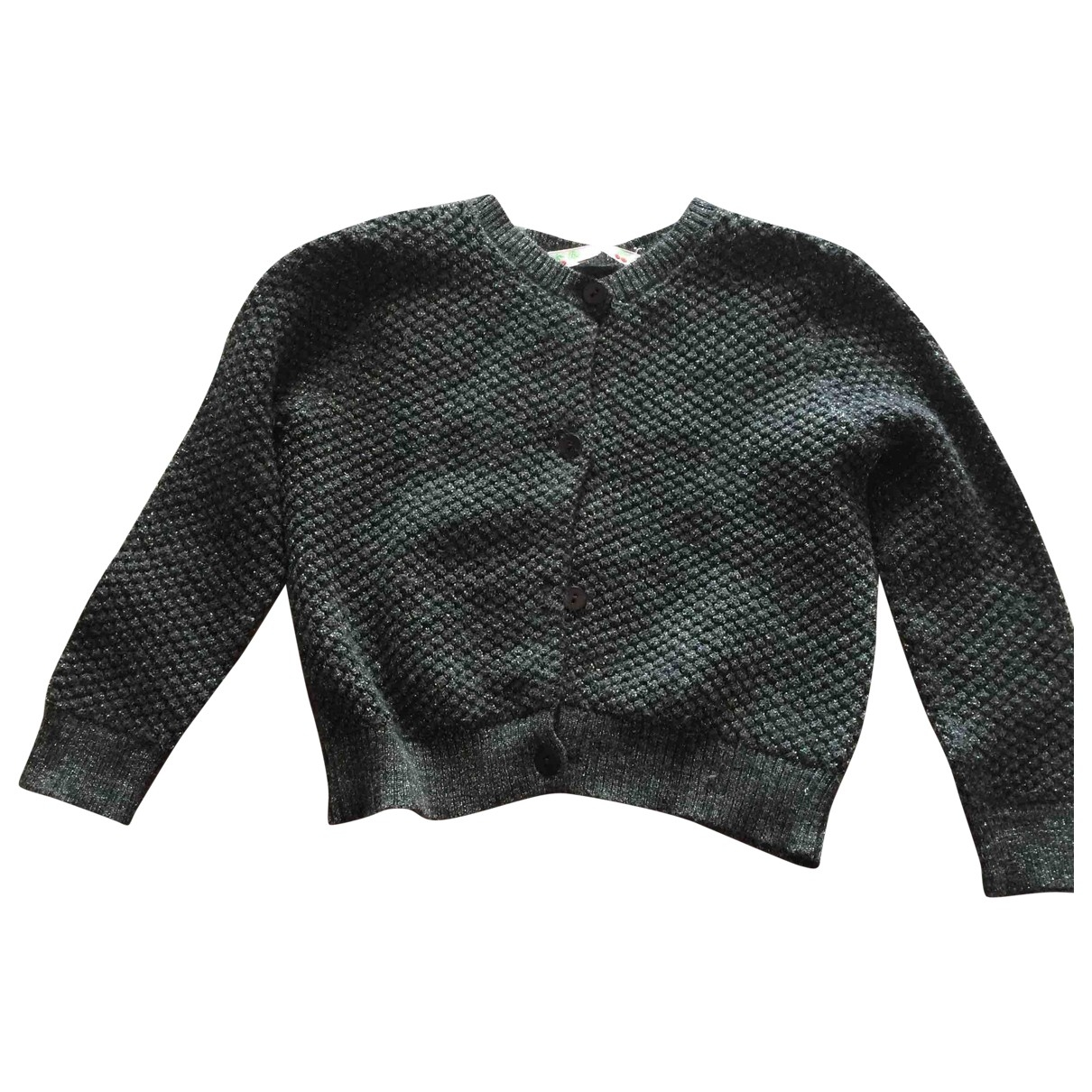 Bonpoint \N Grey Wool Knitwear for Kids 3 years - up to 98cm FR