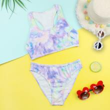 Bikini Badeanzug mit Batik