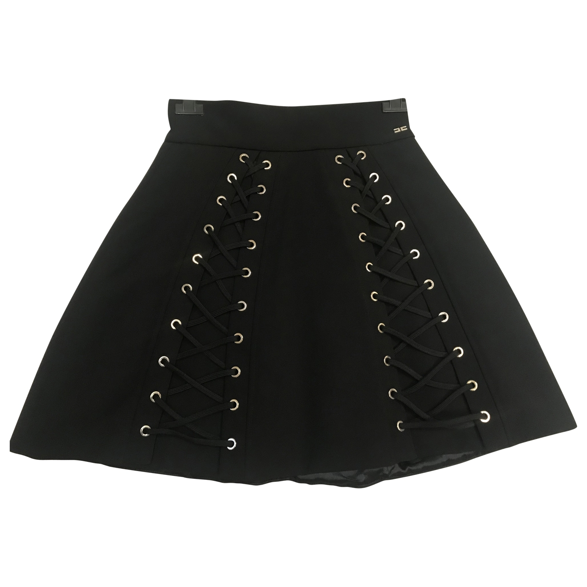 Elisabetta Franchi \N Black skirt for Women 42 IT