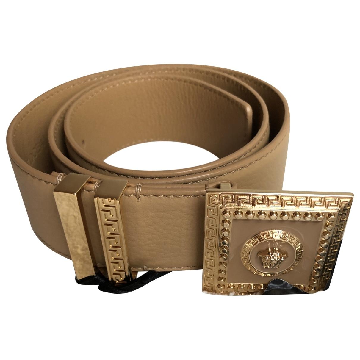 Cinturon de Cuero Versace