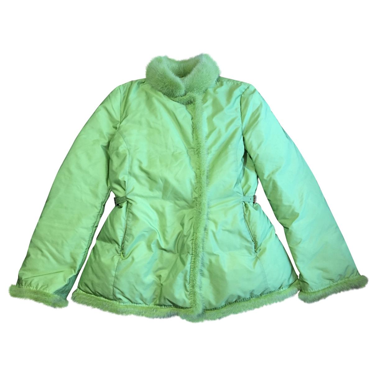 Ermanno Scervino \N Green jacket for Women 44 IT