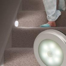 Stair Sensor Round Wall Lamp