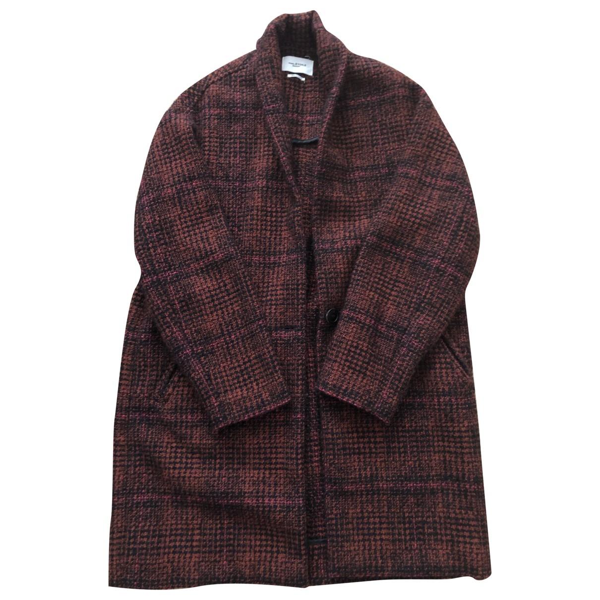 Isabel Marant Etoile \N Red Wool coat for Women 36 FR