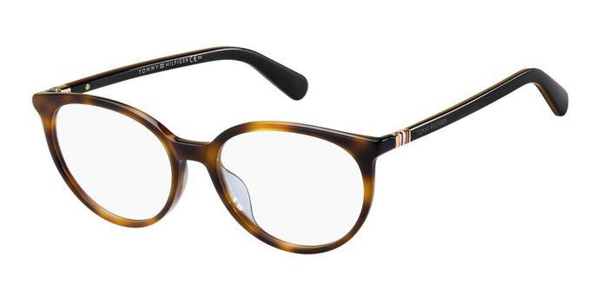 Tommy Hilfiger TH 1776 05L Women's Glasses Tortoise Size 52 - Free Lenses - HSA/FSA Insurance - Blue Light Block Available