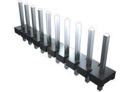 Samtec , HPM, 4 Way, 1 Row, Right Angle PCB Header (1000)