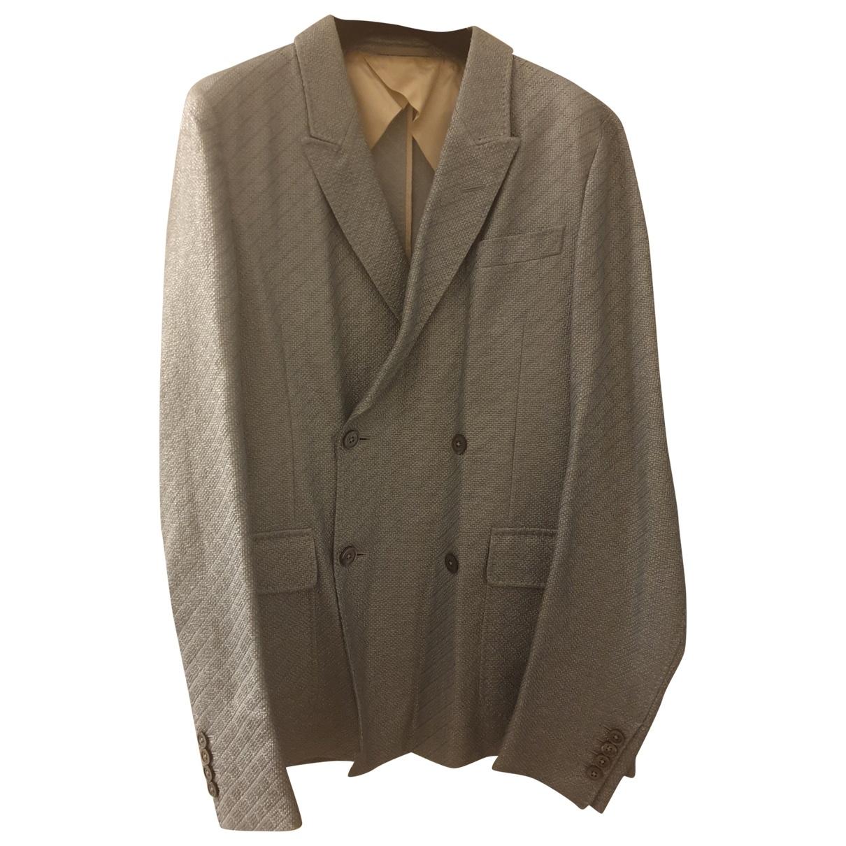Gucci \N Grey Cotton jacket  for Men 46 IT