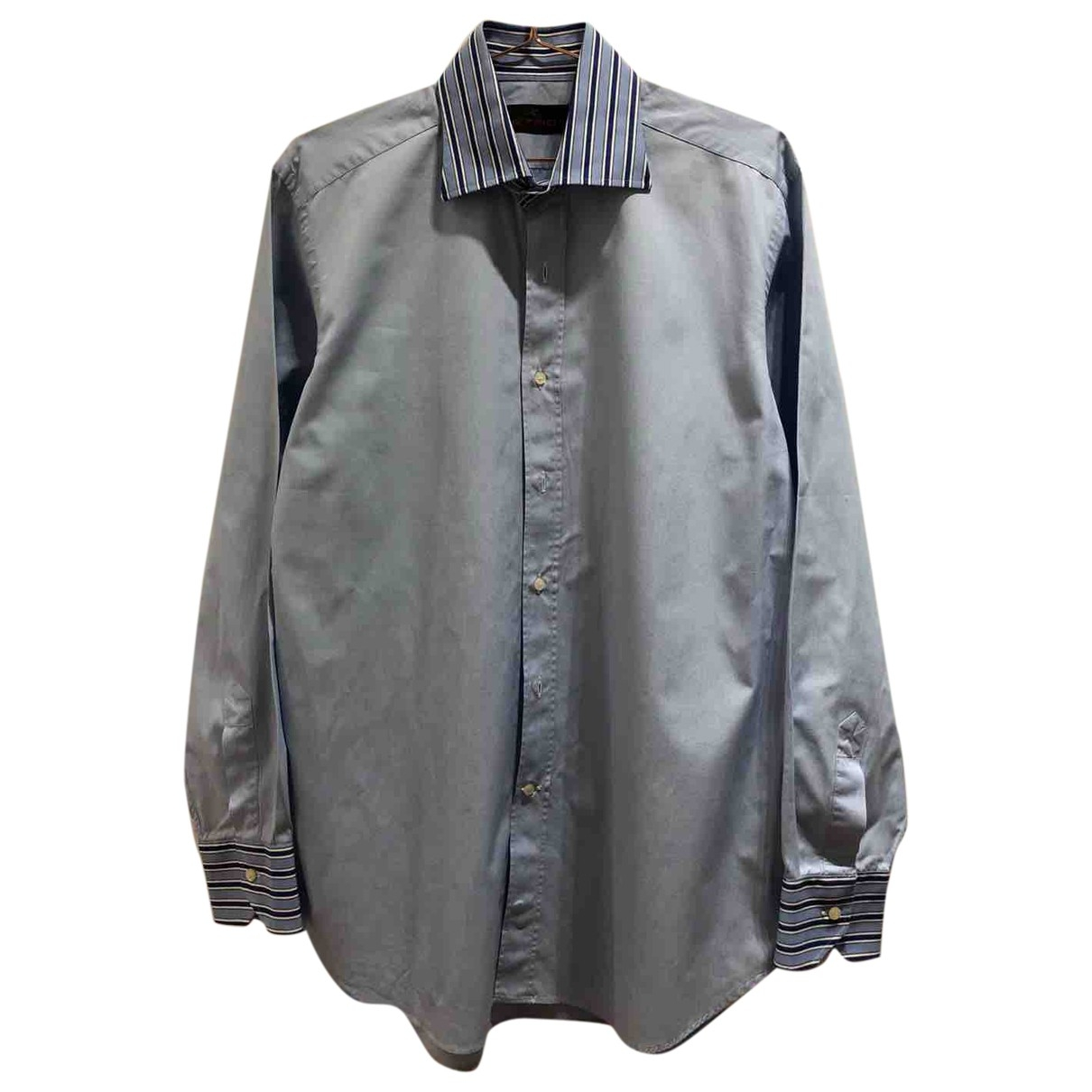 Etro \N Hemden in  Blau Baumwolle