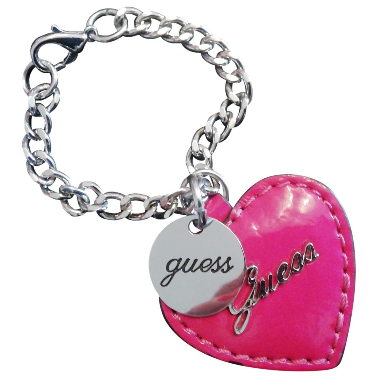 Guess \N Silver Steel bracelet for Women \N