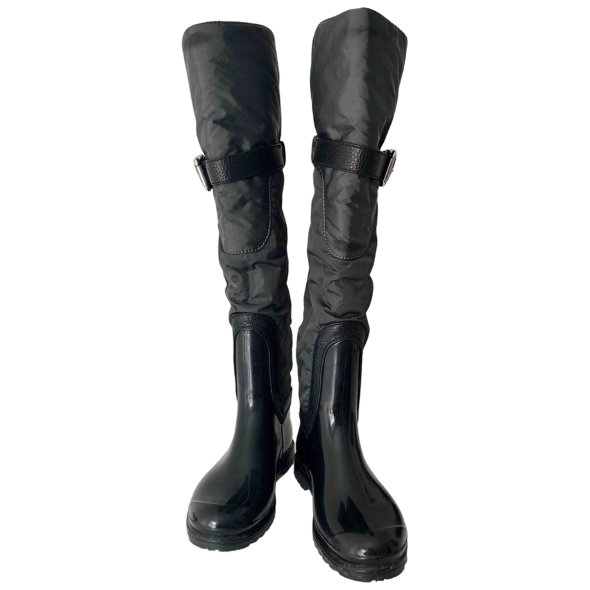 Dolce & Gabbana \N Stiefel in  Schwarz Kunststoff