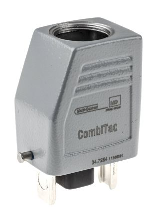 Multi Contact Cable Mount CombiTac-Module, Male, 15 Way, 2 → 5 (Signal Socket) A, 22 → 35 (Power Pin) A