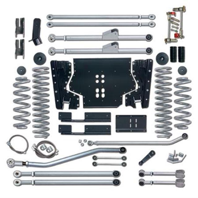 5.5 Inch LJ Lift Kit Extreme Duty Long Arm System No Shocks 04-06 Wrangler LJ Rubicon Express RE7225