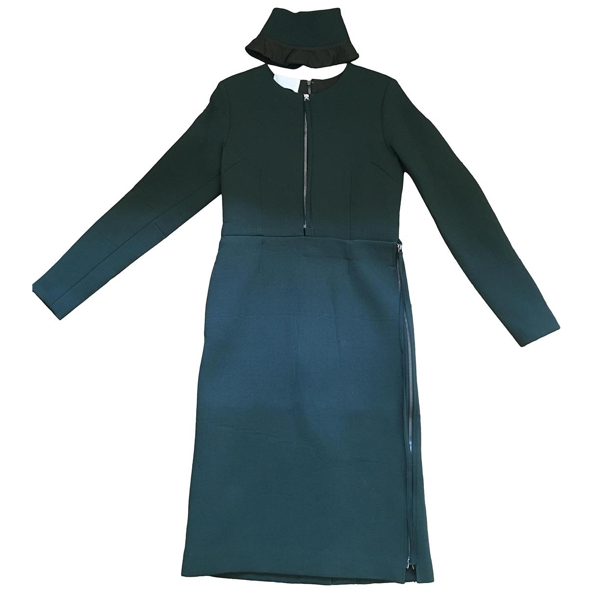 Maison Martin Margiela \N Green Wool dress for Women 40 IT