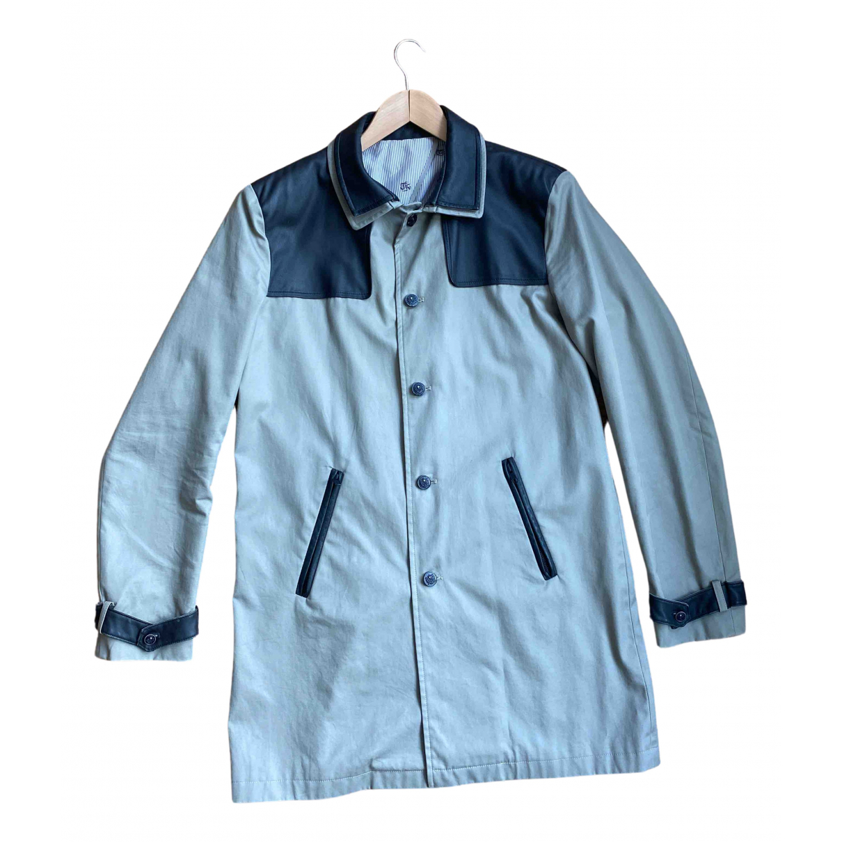 The Kooples N Khaki Cotton coat  for Men 52 FR