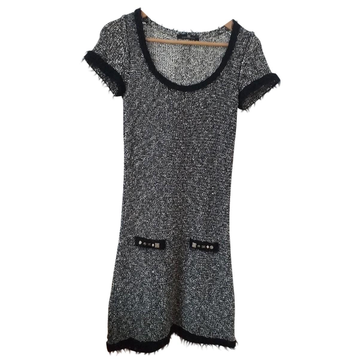 Elisabetta Franchi \N Black Cotton - elasthane dress for Women 40 IT