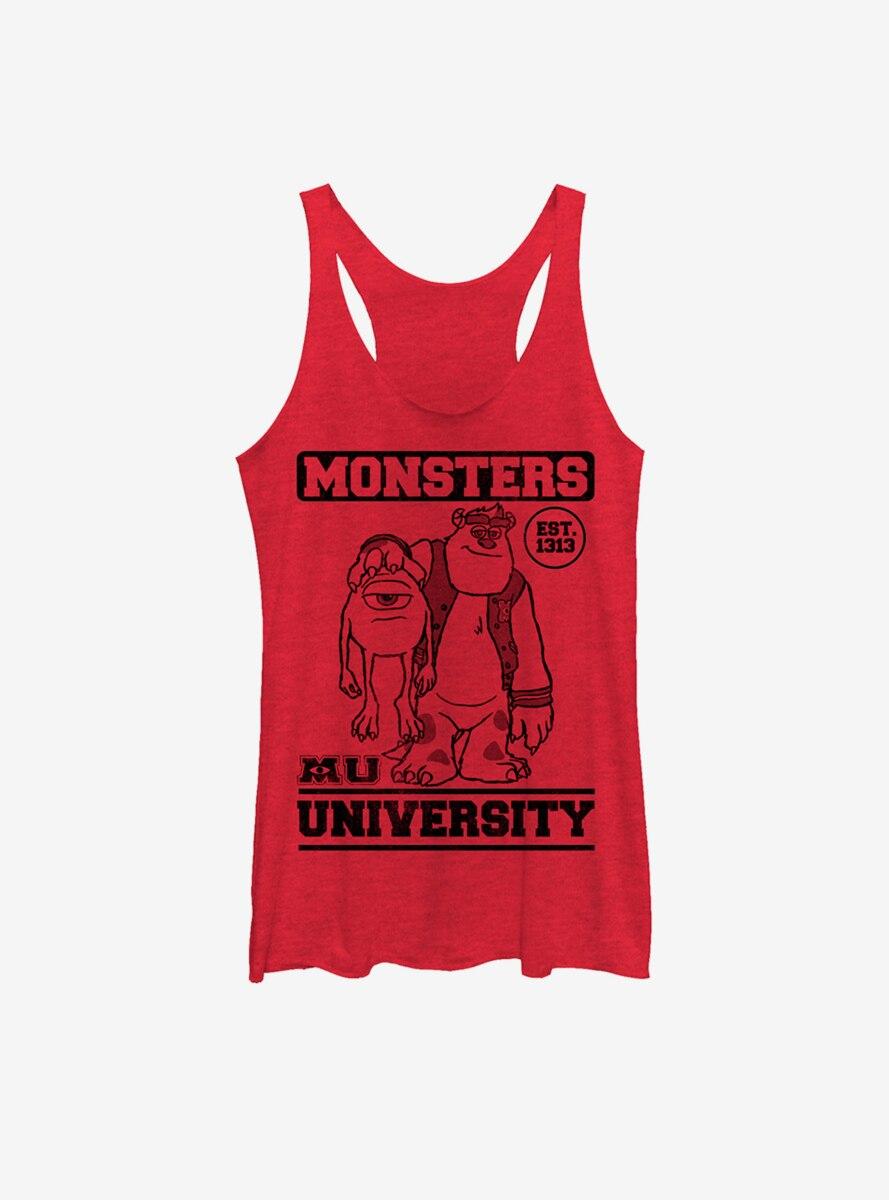 Disney Pixar Monsters University College Friends Est. 1313 Womens Tank