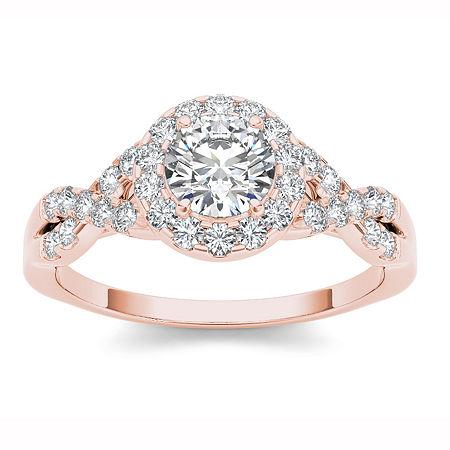 Womens Round White Diamond, 7 1/2 , No Color Family