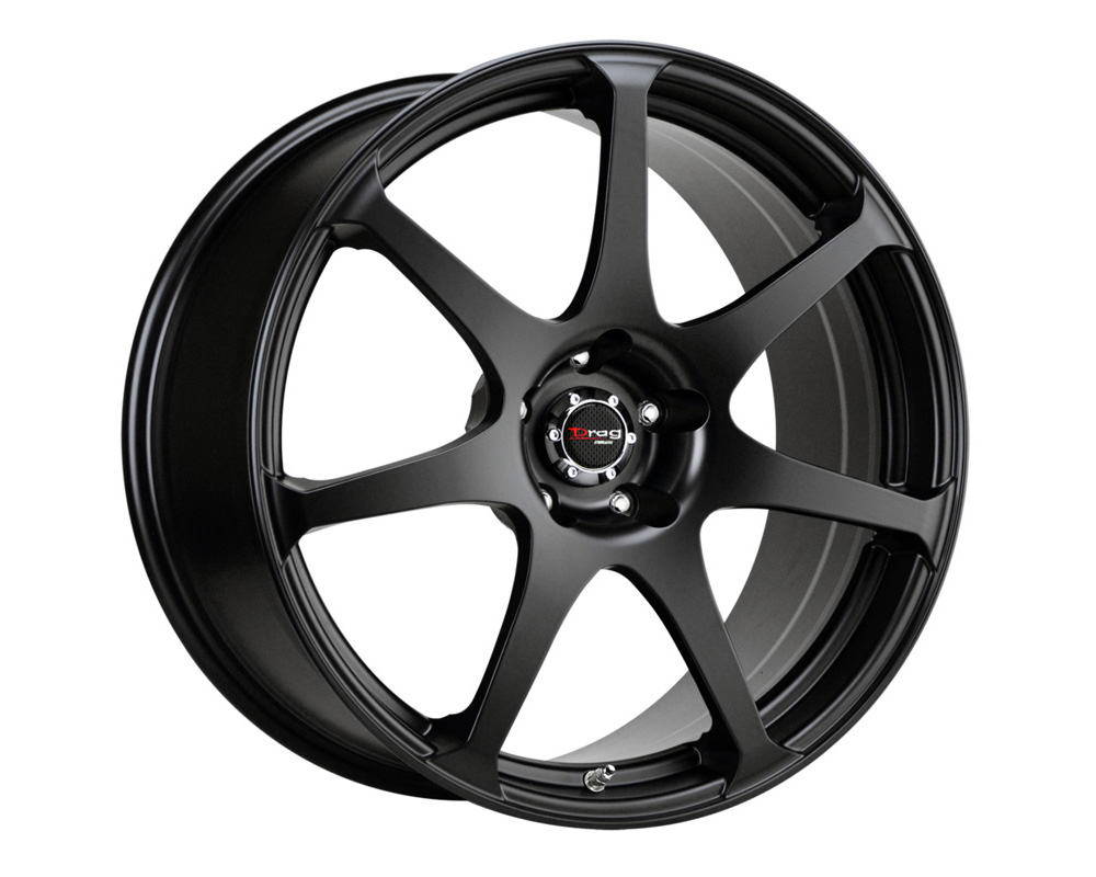 Drag DR-48 Flat Black Full Painted 19x8 5x114.3 40