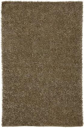 KNMKM231800880810 Kempton KM2318-8' x 10' Hand-Tufted 100% Polyester Rug in Tan  Rectangle