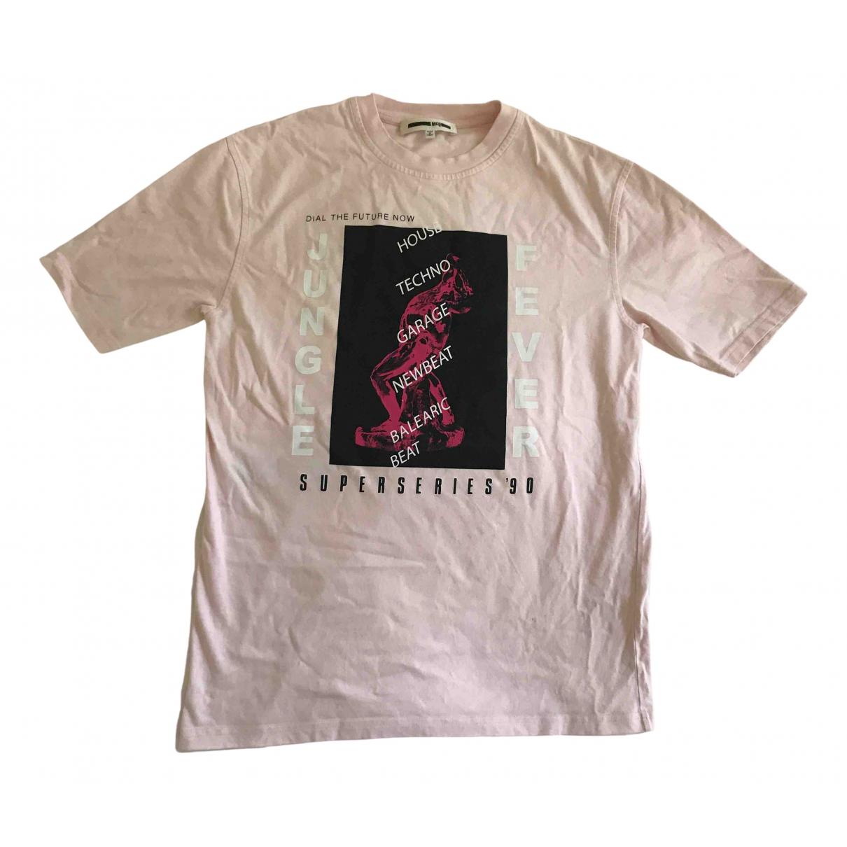 Mcq - Top   pour femme en coton - rose