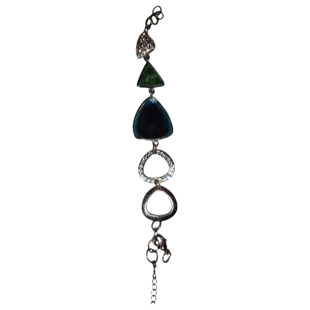 - Bracelet   pour femme en argent - multicolore