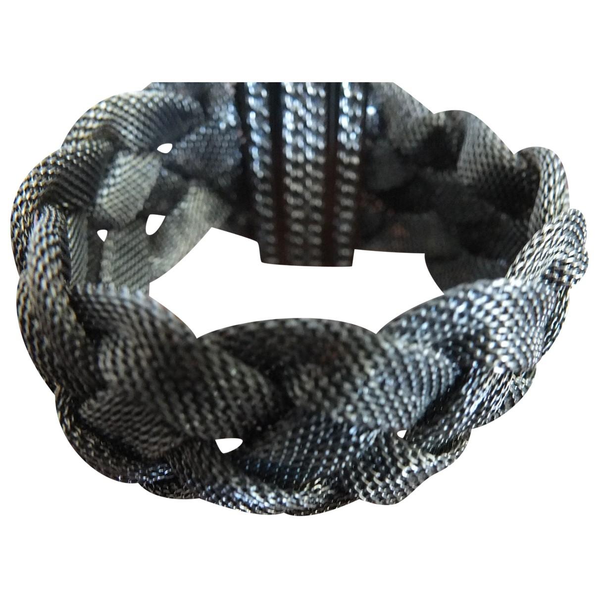 - Bracelet   pour femme en metal - metallise